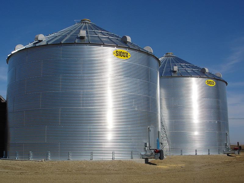 Farm Grain Bins | R & S Grain Systems, Inc  - Dexter, MN